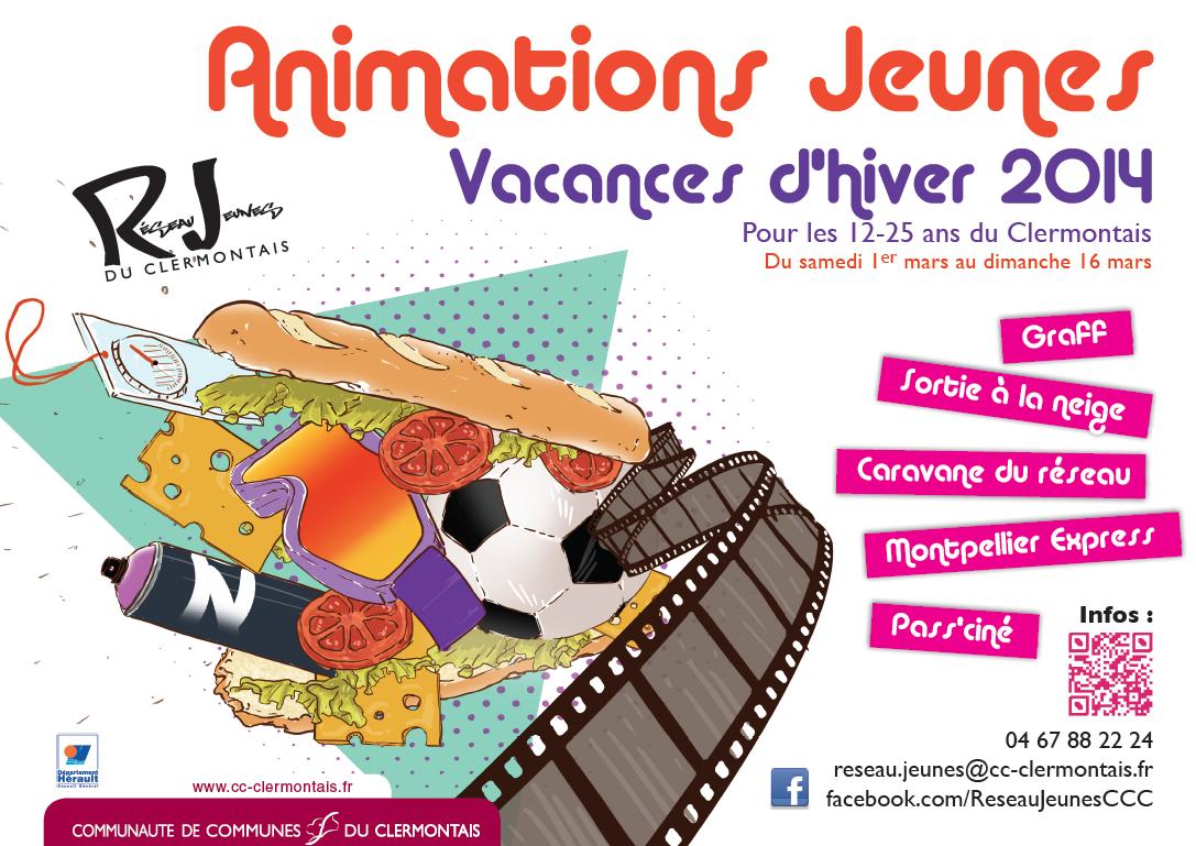 Animations jeunes vacances d'hiver 2014