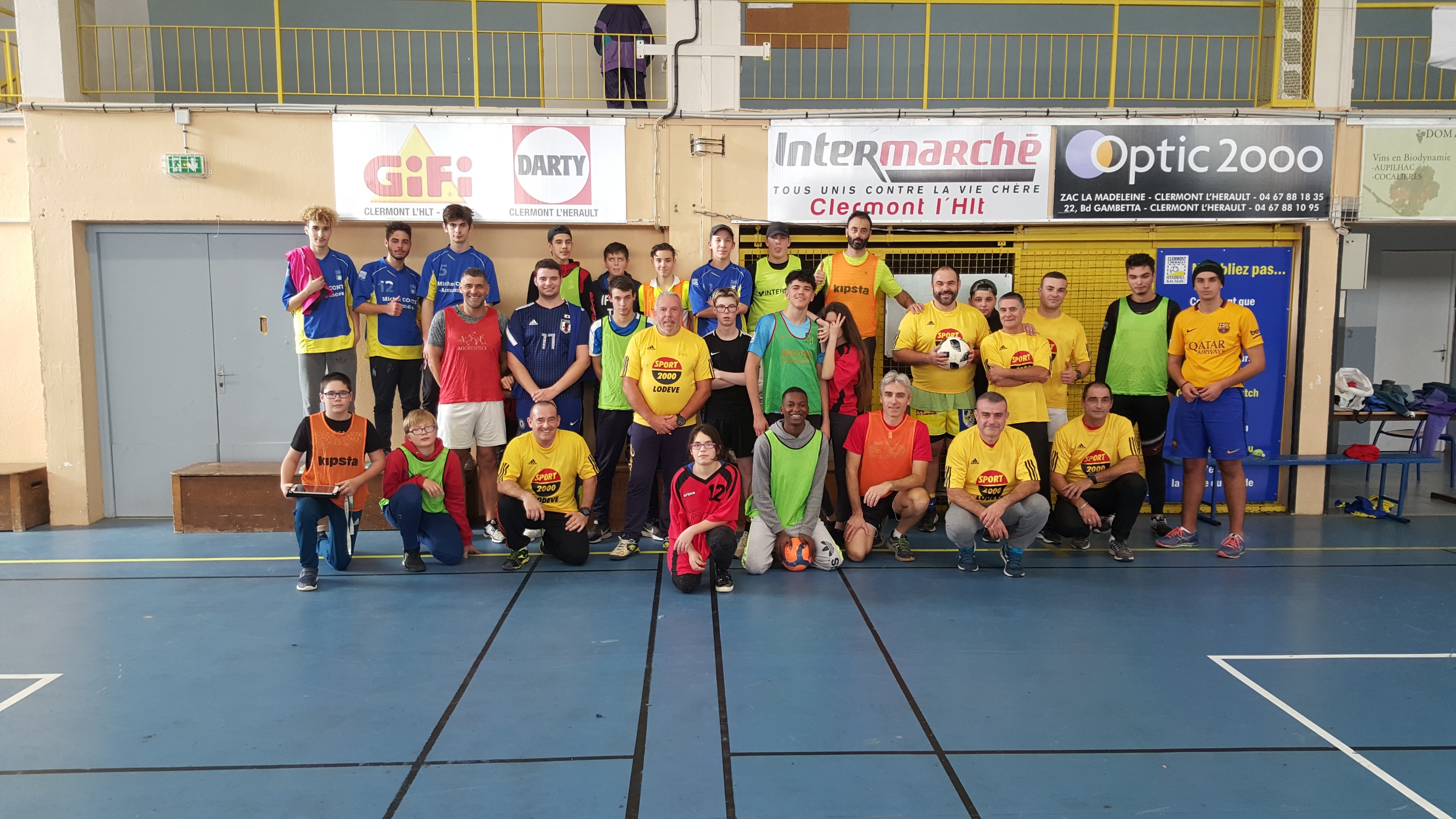 Un grand tournoi de football