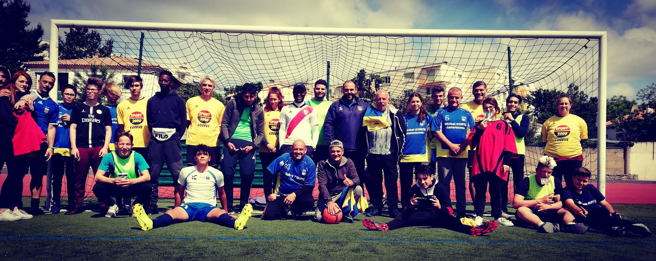 Tournoi de foot: match retour